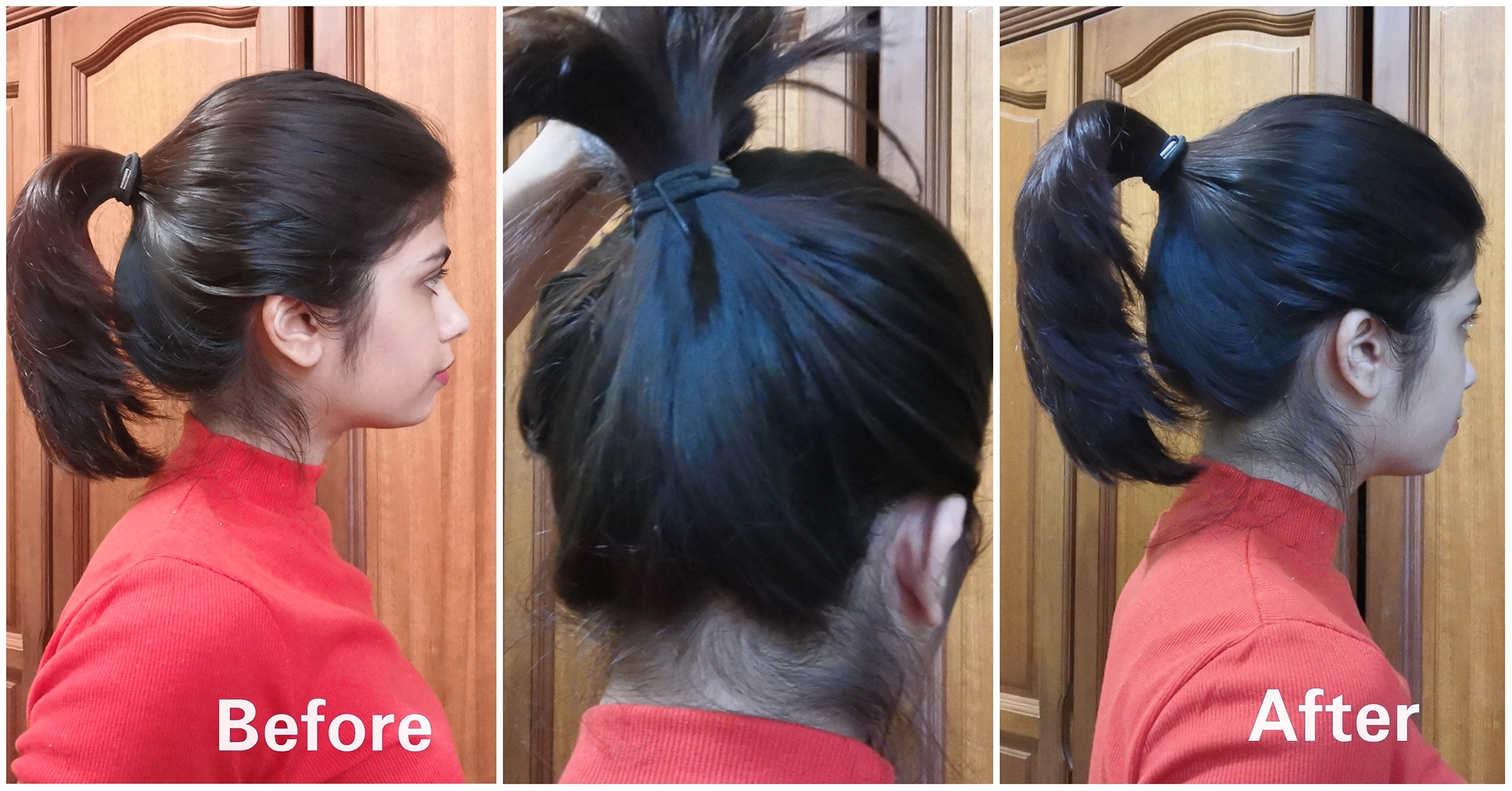 popular hair hacks tested_perky ponytails