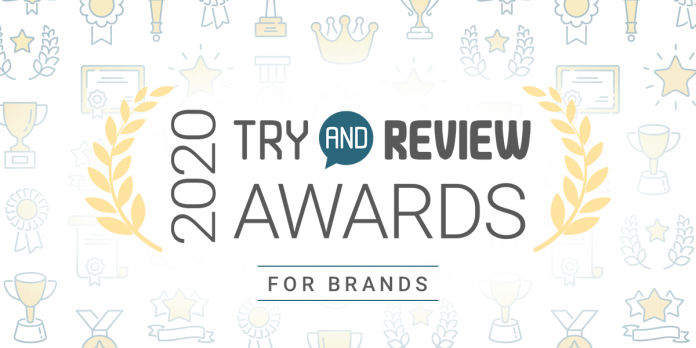 2020 Try and Review Awards - Brands