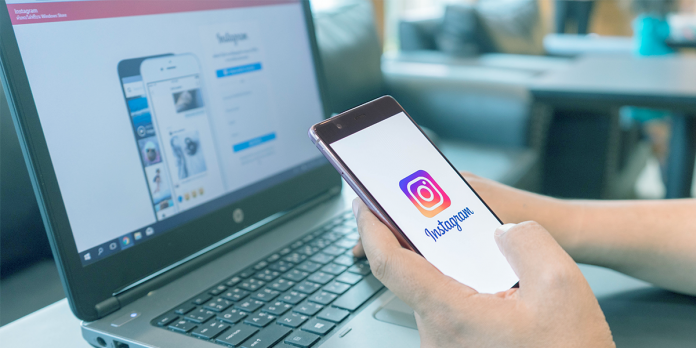 using instagram on mobile and desktop