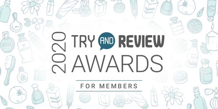 2020 Try and Review Awards - Members