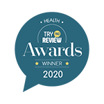 2020 Try and Review Awards Badge - Health