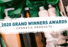 Grand Winners Awards - cosmetic products