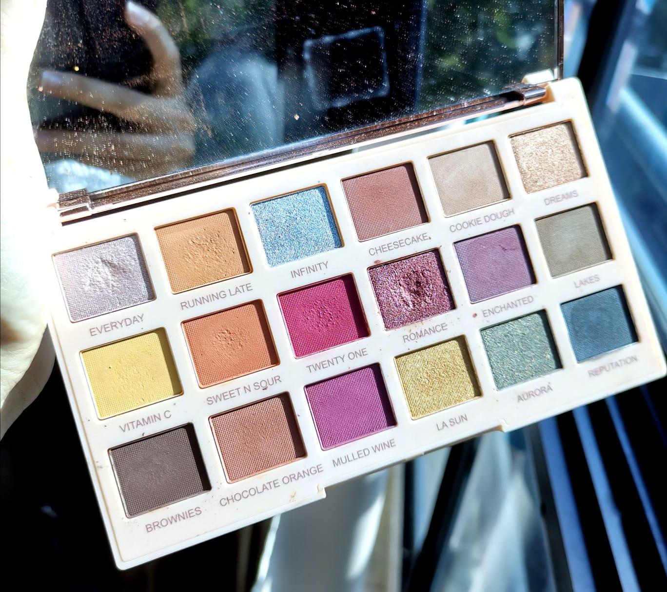 Makeup Revolution SOPHx Extra Spice Eyeshadow Palette