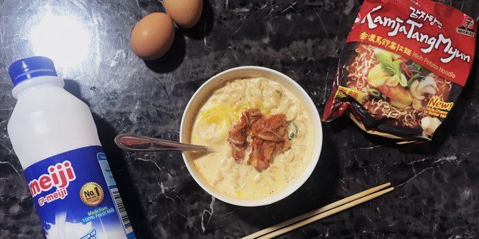 korean noodles cover