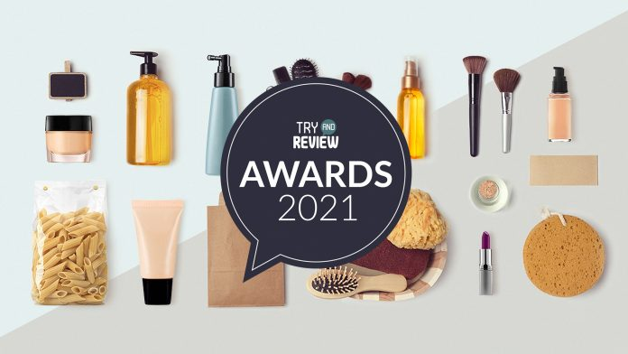 Try and Review Awards 2021 Image