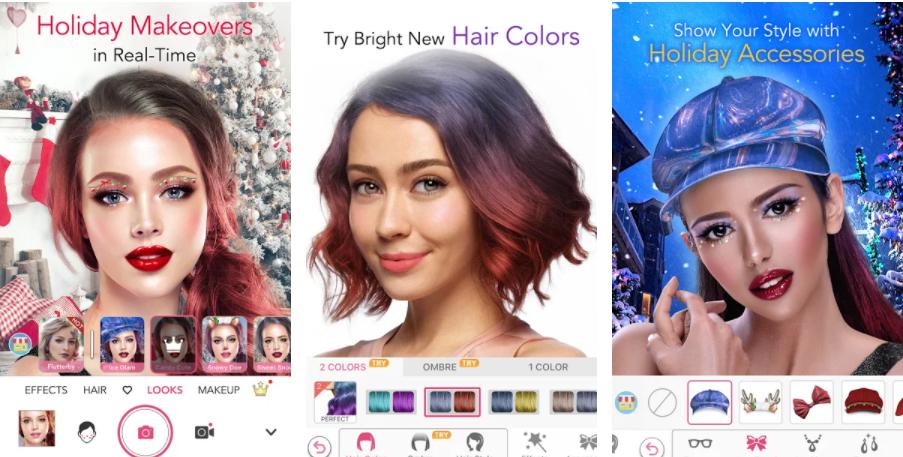 YouCam Virtual Beauty Filter App