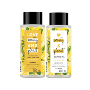 Love Beauty And Planet Coconut Oil & Ylang Ylang Shampoo And Conditioner Product Image