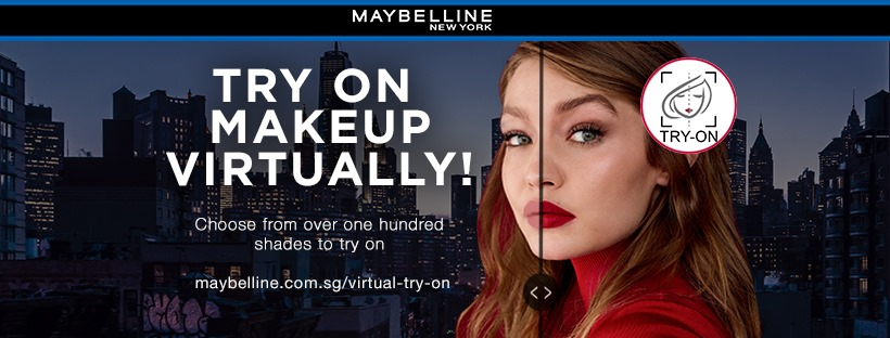 Maybelline Virtual Try It On