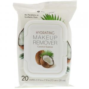 NUPORE HYDRATING MAKEUP REMOVER WIPES COCONUT ESSENCE