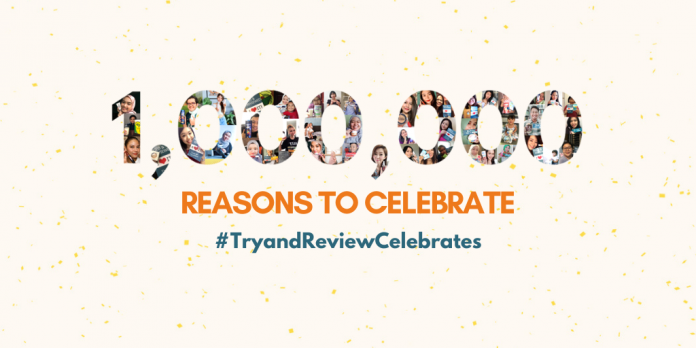 1,000,000 Reasons to Celebrate!