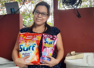 Try and Review Member priscilla.dela-rosa and her Surf products